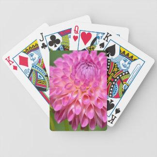 Jogos De Baralhos Poster cor-de-rosa beneficiente da dália e do