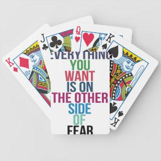 Jogos De Baralhos Tudo você Want está no outro lado do medo