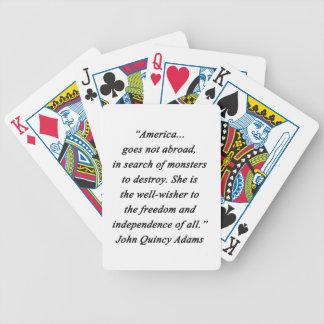 Jogos De Cartas América no exterior - John Q Adams