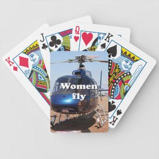 Jogos De Cartas As mulheres voam: helicóptero azul