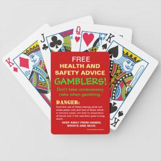 Jogos De Cartas Aviso LIVRE da piada do conselho de saúde e de