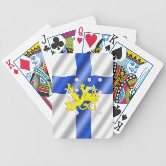 Jogos De Cartas Bandeira finlandesa
