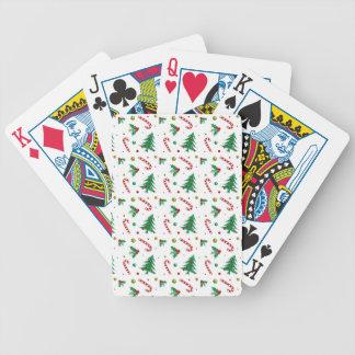 Jogos De Cartas Bastões de doces, visco, e árvores de Natal
