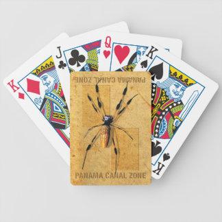Jogos De Cartas Cartões de jogo da zona do canal do Panamá com