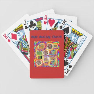 Jogos De Cartas Cartões de jogo transversais cristãos da igreja