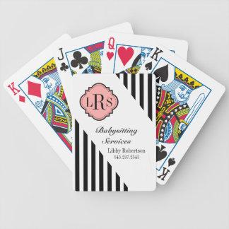 JOGOS DE CARTAS CHIQUE QUE JOGA LISTRAS DE CARDS_BLACK/WHITE