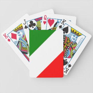 Jogos De Cartas Design de Tricolore da bandeira de Italia do