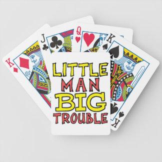 Jogos De Cartas Design grande do miúdo do problema do homem