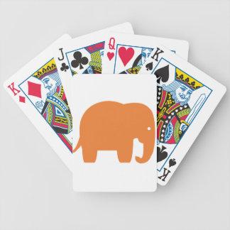 Jogos De Cartas elefante alaranjado