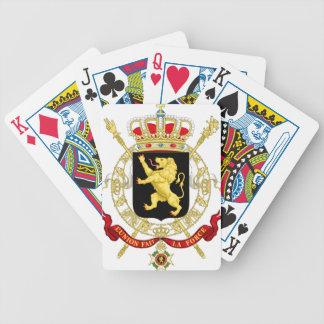 Jogos De Cartas Emblema belga - brasão de Bélgica