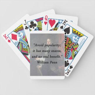 Jogos De Cartas Evite a popularidade - William Penn