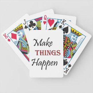 Jogos De Cartas Faça coisas acontecer