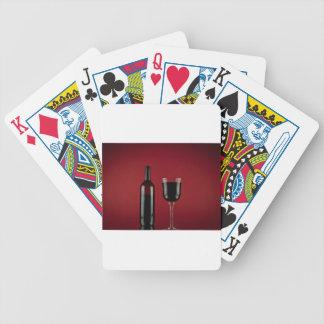 Jogos De Cartas Garrafa de vidro de vermelho de vinho