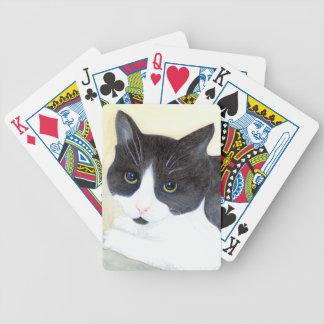 Jogos De Cartas Gato preto e branco