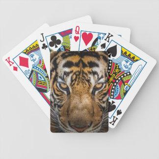 Jogos De Cartas Impressão animal do tigre