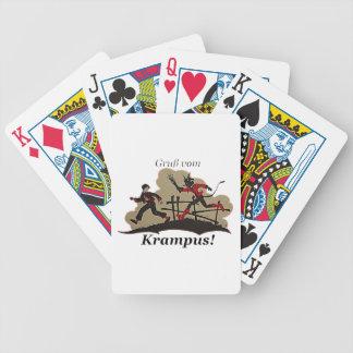 Jogos De Cartas Krampus persegue o miúdo