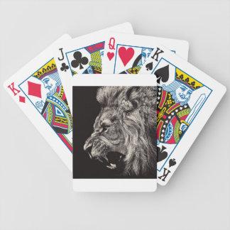 Jogos De Cartas Leão masculino irritado
