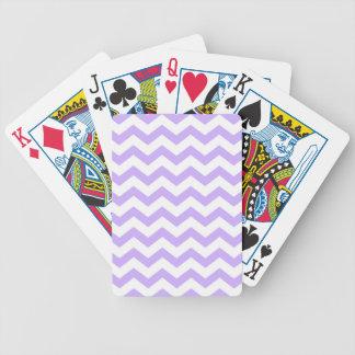 Jogos De Cartas Lilac Chevron