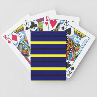 Jogos De Cartas Listra azul escuro de Derby