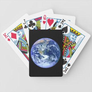 Jogos De Cartas Mármore do azul da terra