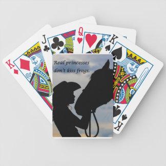 Jogos De Cartas Menina que beija o cavalo