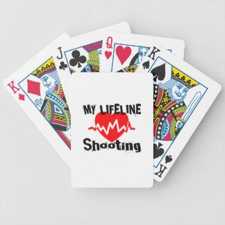Jogos De Cartas Minha linha de vida tiro ostenta o design