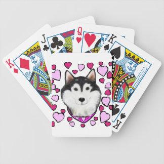 Jogos De Cartas Namorados do Do Alasca-Malamute