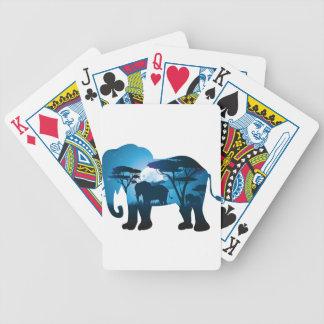 Jogos De Cartas Noite africana com elefante 6