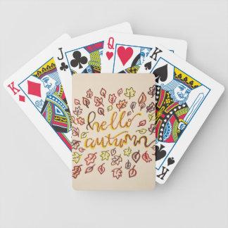 Jogos De Cartas Olá! outono