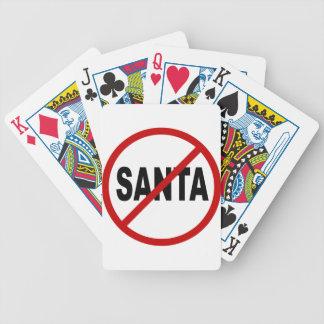 Jogos De Cartas Papai noel do ódio Santa/No permitido a indicação