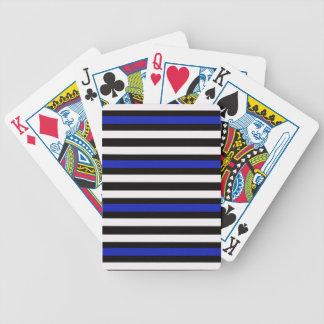 Jogos De Cartas Preto horizontal com azul