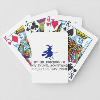 Jogos De Cartas Pricking de meu design do Dia das Bruxas do
