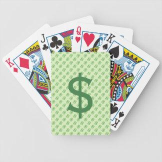 Jogos De Cartas Sinais de dólar no verde