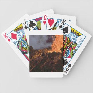 Jogos De Cartas Splatter e fluxo da lava