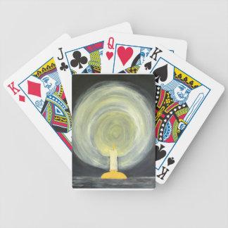 Jogos De Cartas Vela que ilumina-se acima da noite