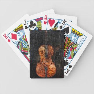 Jogos De Cartas Violoncelo escuro da alma