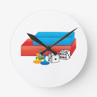 Jogos de mesa relógios de paredes