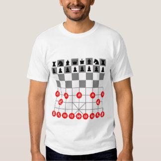 Jogos de xadrez camisetas
