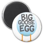 Jogos grandes do ovo de ganso ima de geladeira