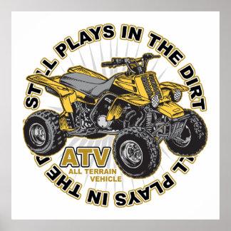 Jogos na sujeira ATV Poster