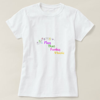 Jogue esse t-shirt Funky da música