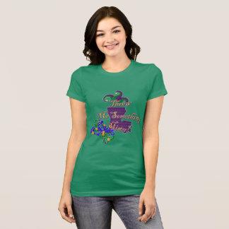 Jogue-me algo t-shirt do senhor carnaval camiseta
