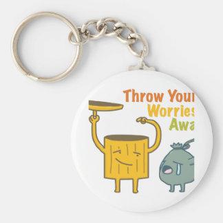 Jogue seu chaveiro básico ausente do botão das