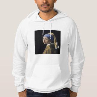 Johannes Vermeer - menina com um brinco da pérola Moletom