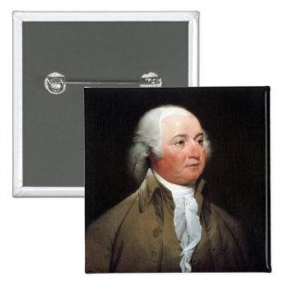 John Adams Bóton Quadrado 5.08cm