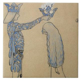 John Bauer - pnha então o príncipe uma coroa do
