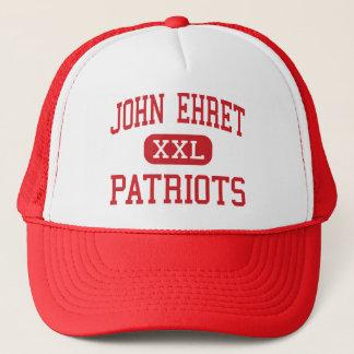 John Ehret - patriotas - alto - Marrero Louisiana Boné