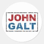 John Galt Adesivo Em Formato Redondo