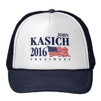John Kasich para o presidente Boné