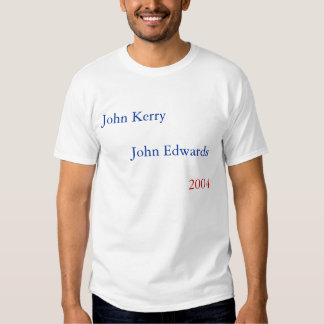 John Kerry - John Edwards 2004 Camiseta